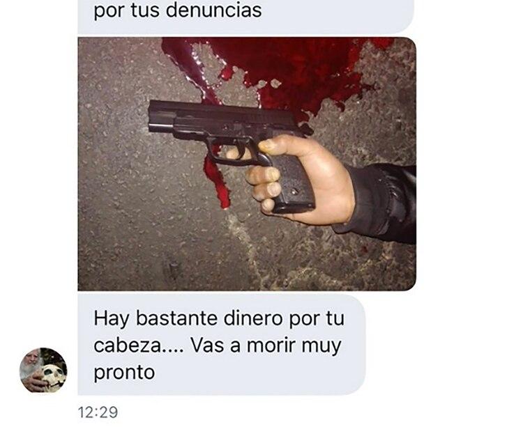 Amenazan de muerte a Macarena Sánchez: