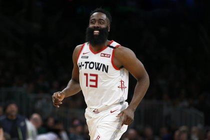 James Harden es el máximo anotador de la NBA (Winslow Townson-USA TODAY Sports)