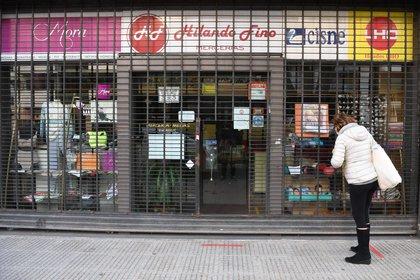 En la Ciudad preocupa el cierre de comercios (Maximiliano Luna)
