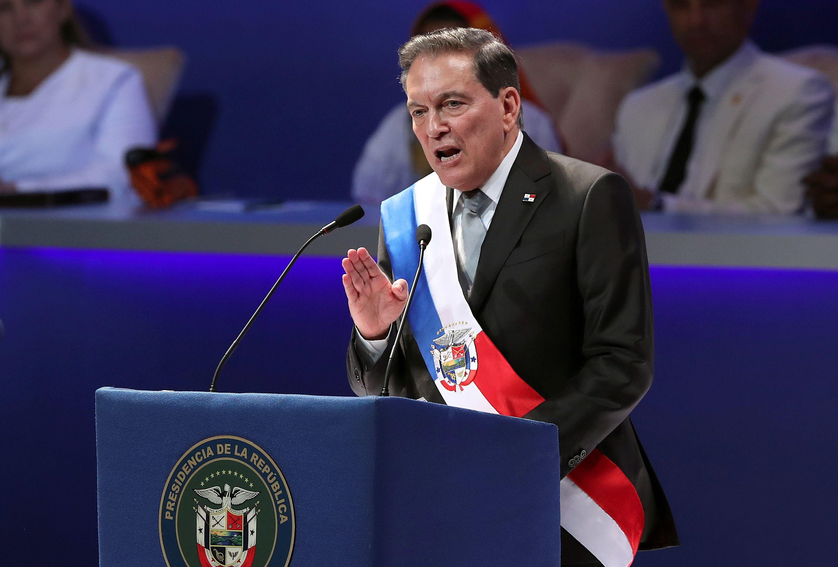 Laurentino Cortizo, presidente de Panamá desde el 1 de julio de 2019 (REUTERS / Erick Marciscano)