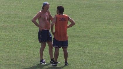 Charla mano a mano con César Luis Menotti en su arribo a Independiente (FotoBaires)