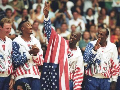Michael Jordan había ganado el oro cuatro años antes con Estados Unidos (Foto: Reuters)