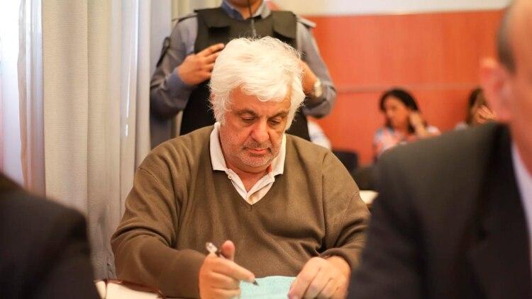 El empresario de la carne amenazó con suicidarse (foto Matías Baglietto)