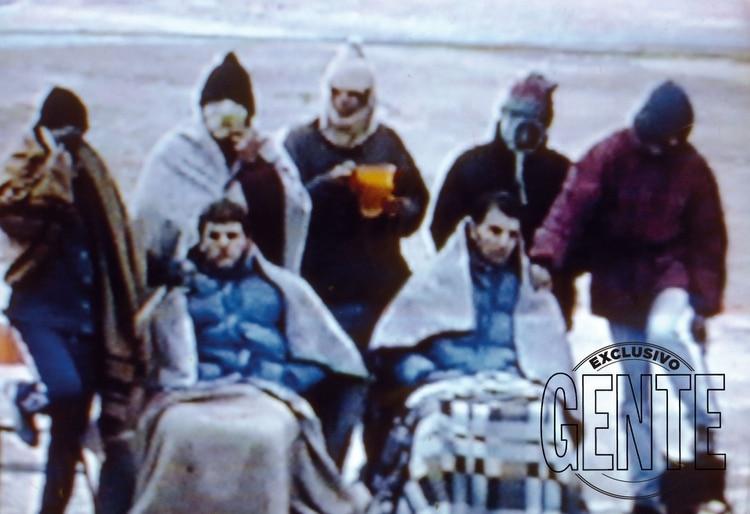 Imágenes exclusivas de la sanguinaria revuelta de Semana Santa de 1996, donde los 12 Apostóles tomaron rehenes -entre ellos una jueza- y se enfrentaron con otro grupo de presos.
