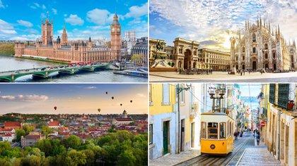 Aquí están las 20 ciudades europeas más baratas para unas vacaciones