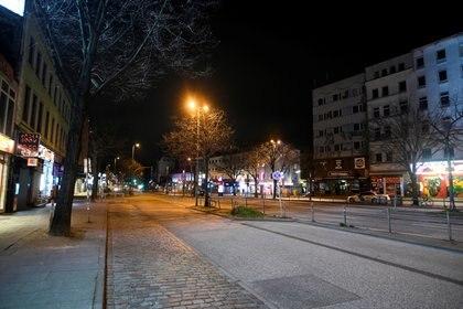 Calles vacías en Hamburgo (Reuters)