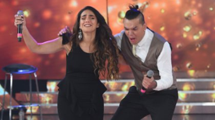 Ángela Leiva y Brian Lanzelotta se llevaron el segundo puesto en el Cantando 2020