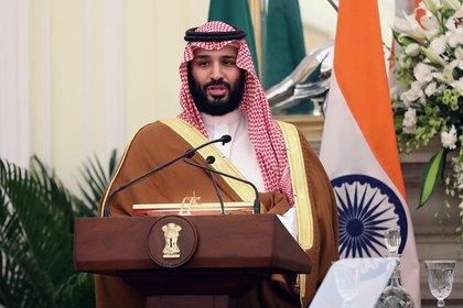 En la imagen, el príncipe heredero saudí, Mohamed bin Salman. EFE/Harish Tyagi/Archivo