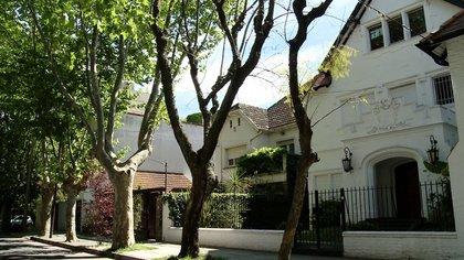 La casa en Gaspar Campos donde se instaló Perón en 1972