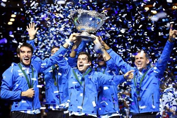 El equipo argentino logró levantar la Copa Davis por primera vez en 2016