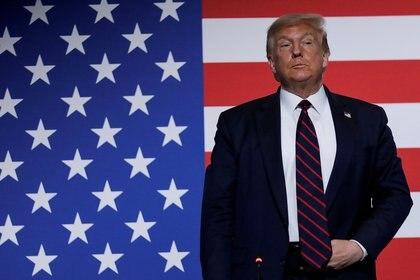 El presidente Donald Trump competirá contra Joe Biden en las elecciones presidenciales del 3 de noviembre. Foto:  REUTERS/Carlos Barria