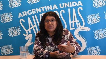 """El reflejo mediático nos lleva a creer que somos minoría, pero no es así, hay una mayoría de gente que no está a favor del aborto"""", dice Ramona Treviño"""