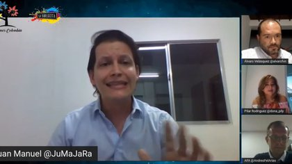 Juan Manuel Jaramillo es quien está detrás del movimiento 'Salvemos Colombia'.