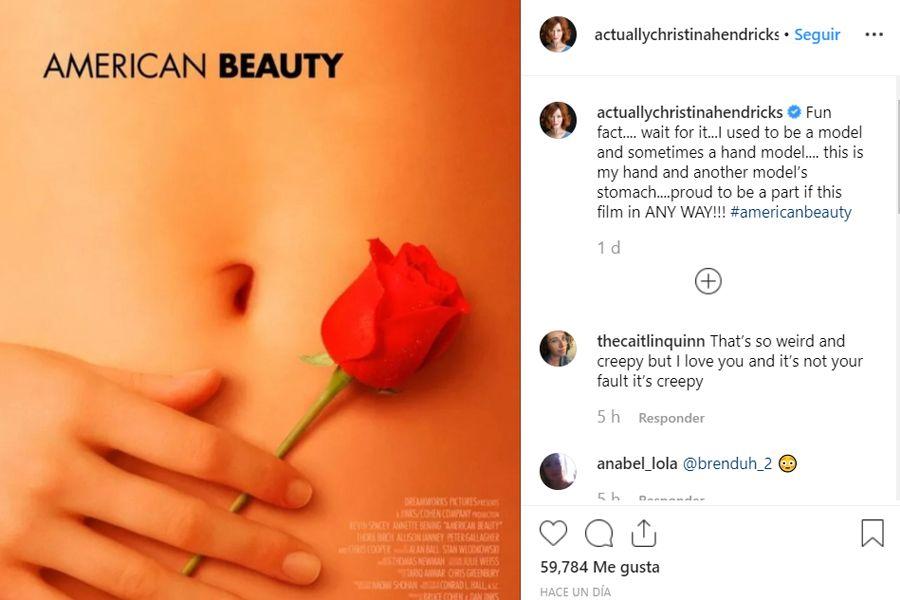 La noticia la dio a conocer en su página de Instagram en donde explicó que anteriormente era una modelo de manos, en esa época (Foto: Instagram)
