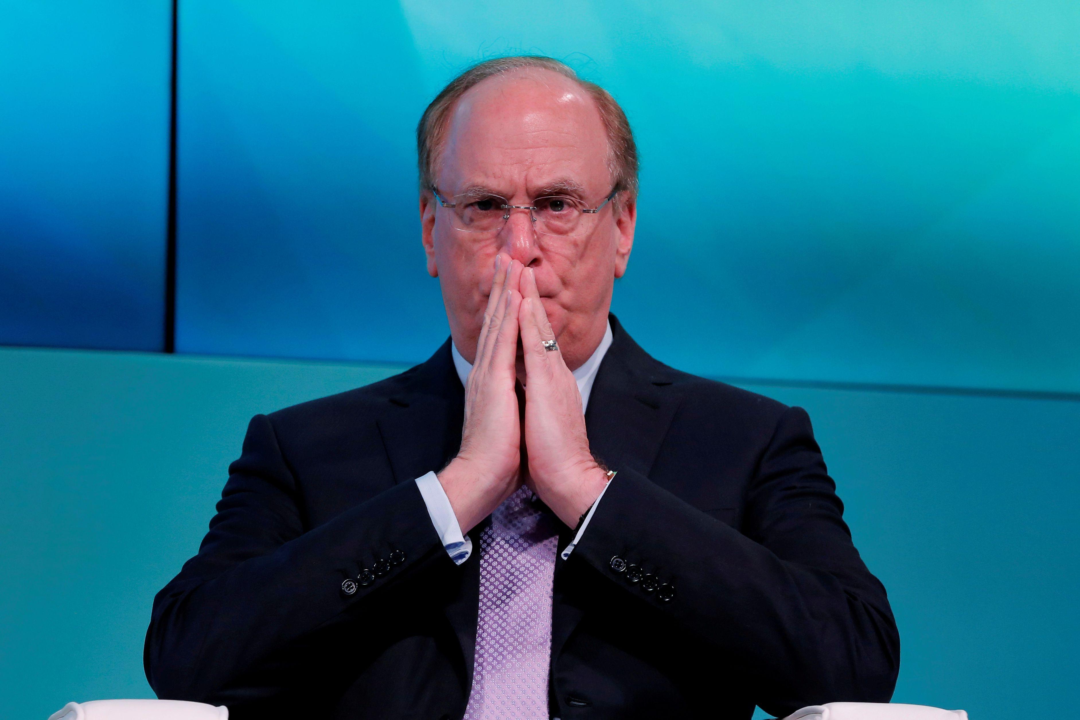 Larry Fink, CEO de BlackRock, el fondo de inversión más poderoso de Wall Street.