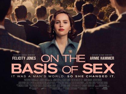 """""""On The Basis Of Sex"""" se estrenó en 2018 (Foto: Twitter/women_direct)"""