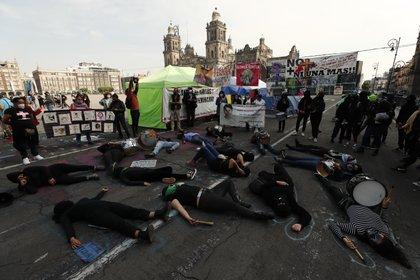 El delito de feminicidio bajó 3.5% en el año (Foto: EFE / José Méndez)