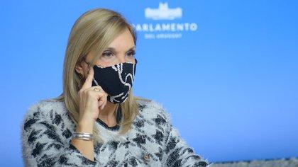 Beatriz Argimón, vicepresidente de Uruguay