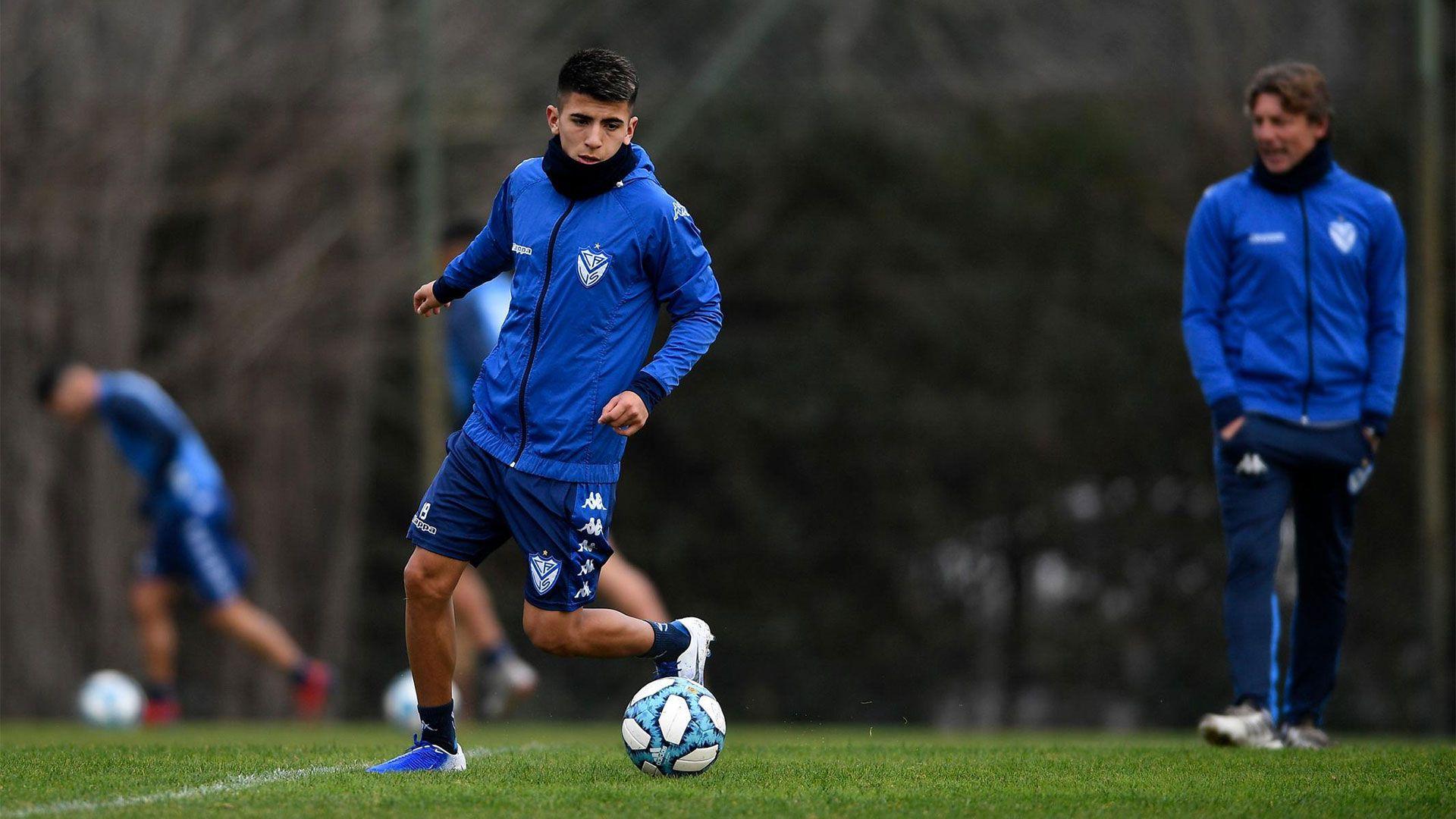 El club decidió separar a los jugadores del plantel profesional (Foto: Vélez oficial)