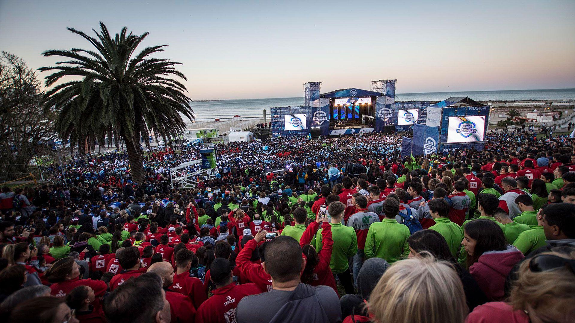Los Juegos Nacionales Evita tendrán su ceremonia de apertura este domingo en Mar del Plata