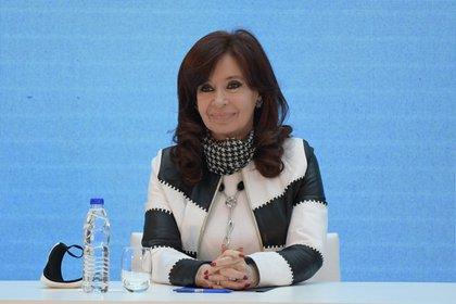 La vicepresidenta de Argentina, Cristina Fernández de Kirchner. EFE/ Juan Mabromata/Archivo