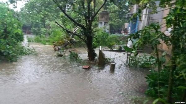 Estragos del huracán Michael en Cuba (Martí Noticias)