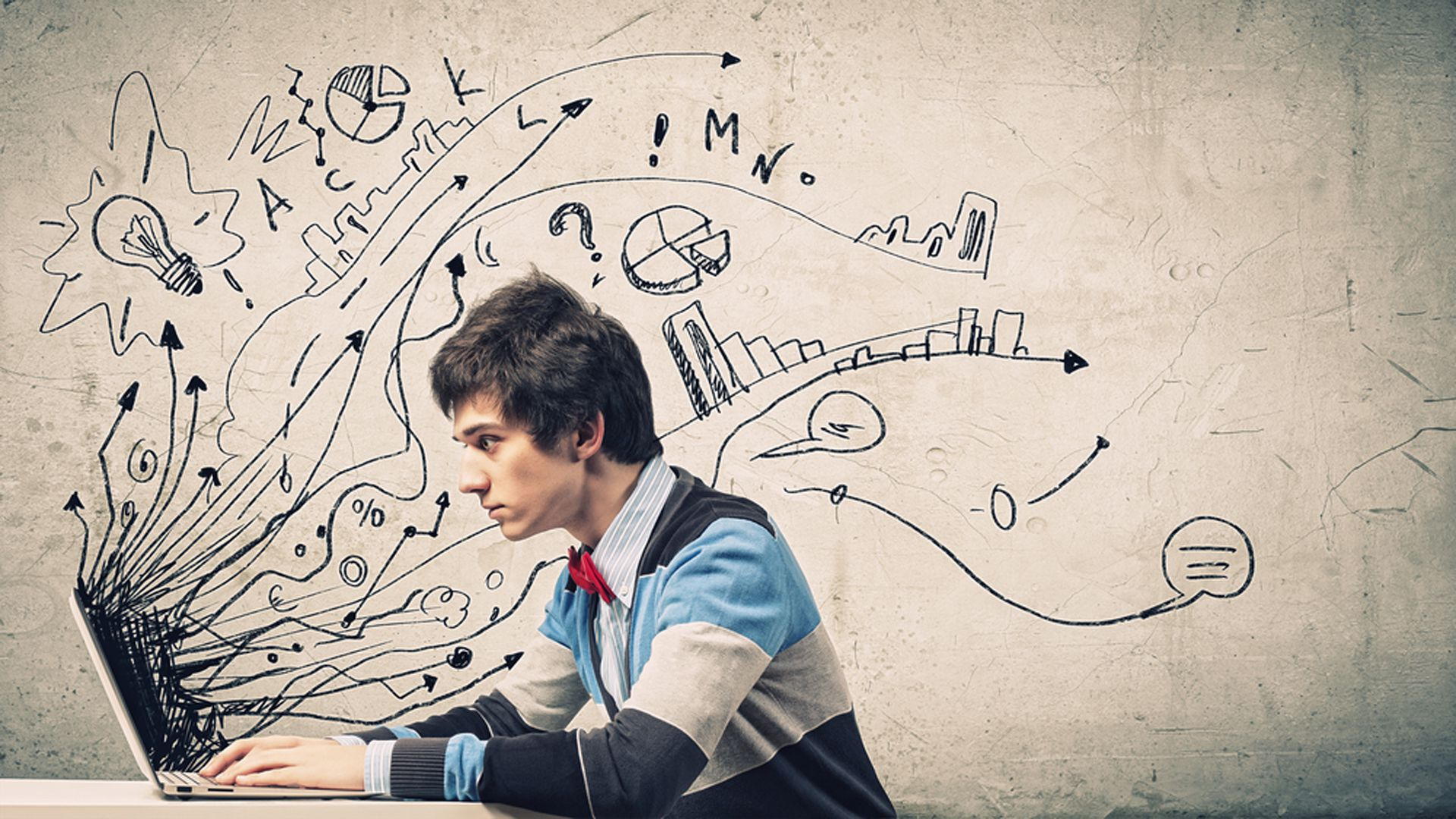 Los jóvenes y la creatividad, el futuro del cual depende la sociedad (Shutterstock)