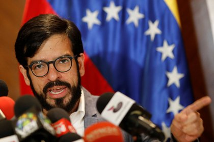 Miguel Pizarro, comisionado presidencial ante la ONU (REUTERS/Manaure Quintero)