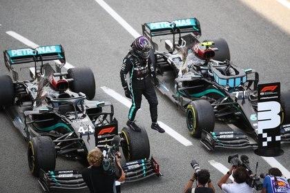 Las Flechas Negras en el Gran Premio de España. Foto: REUTERS/Bryn Lennon