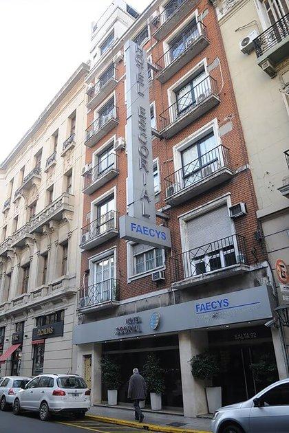 Hotel Escorial, del sindicato de Comercio