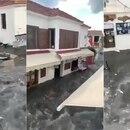 Tsunami en Turquía tras el terremoto en el Mar Egeo