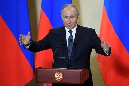 Vladimir Putin, en un discurso del miércoles (Reuters)