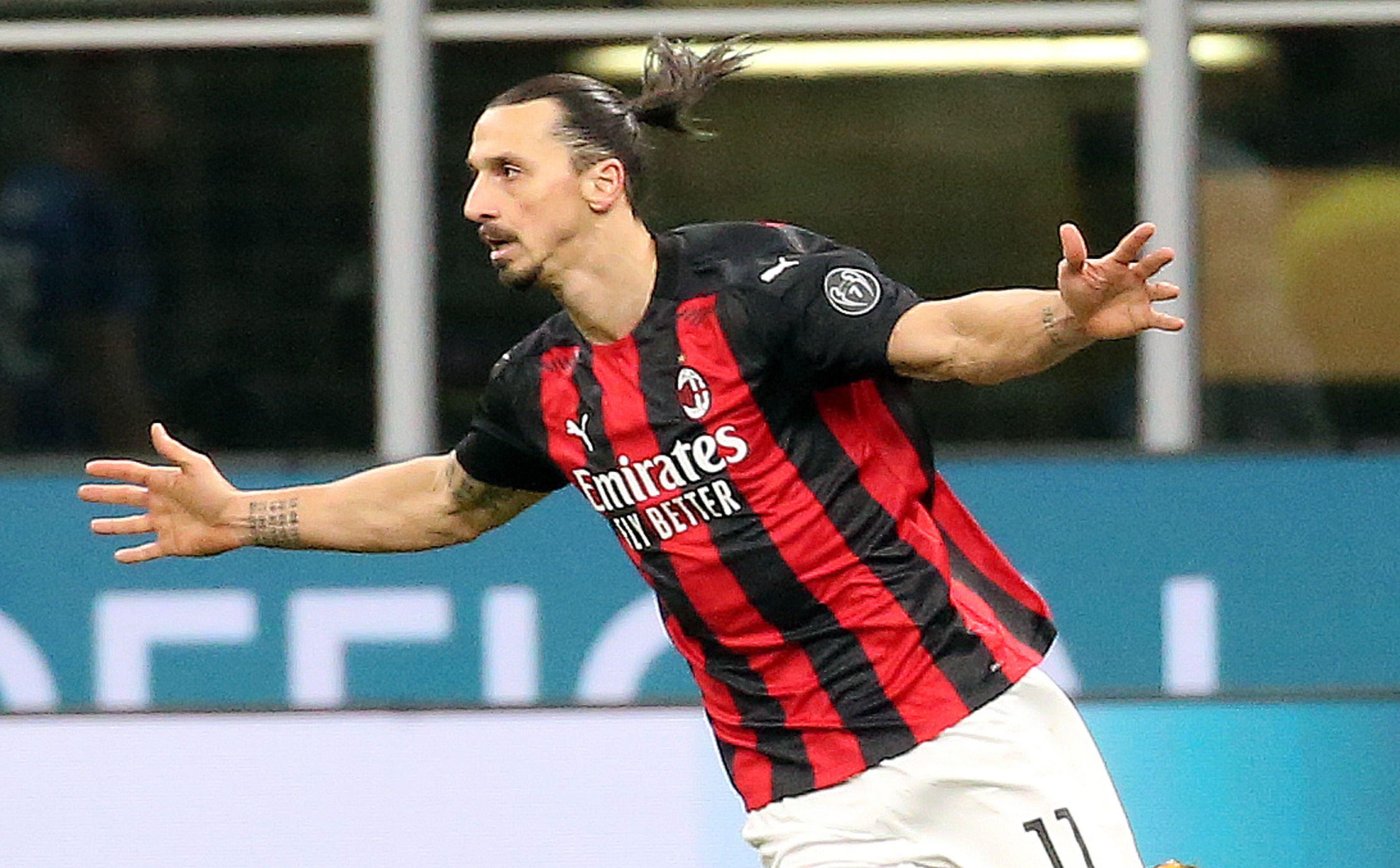 Zlatan Ibrahimovic quiere a Mauro Icardi en el Milan (EFE/EPA/MATTEO BAZZI/Archivo).