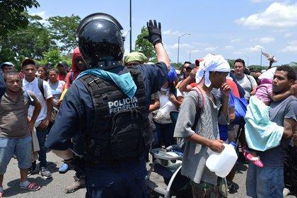 México desplegará 6.000 elementos de la Guardia Nacional. (Fotos:EFE/José Torres)
