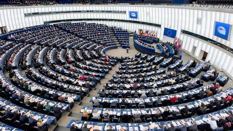 El Parlamento Europeo reconoció a Juan Guaidó como