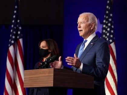 Joe Biden habló desde Deleware
