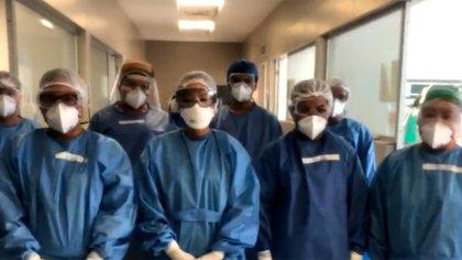 El médico trabaja en el IMSS desde hace 25 años, y el 10 de diciembre comenzó a sufrir síntomas de Kovit-19 (Foto: Twitter / uTu_IMSS)