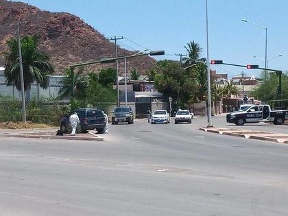 El pasado fin de semana, una familia fue atacada por un comando en Guaymas, Sonora (Foto: Twitter/ LPueblo2)