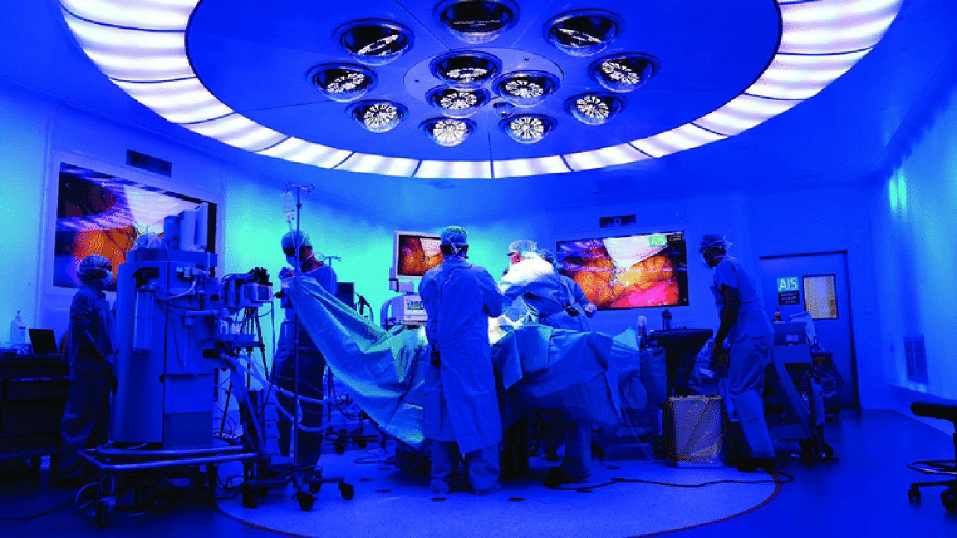 """El proyecto llamado """"Cirujano a distancia 5G"""" que se mostró en el Congreso de Móviles en 2019"""