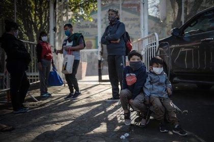 El 62,5 % de los niños argentinos son pobres. (EFE/Juan Ignacio Roncoroni/Archivo)