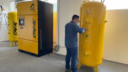 Tras una semana desde su instalación, plantas de oxígeno en Antioquia aún no están en funcionamiento
