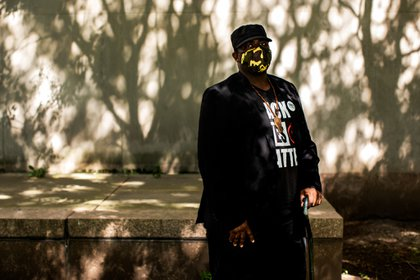 """Nuestra lucha es nuestra lucha"" dice Anthony Beckford, presidente de Black Lives Matter Brooklyn"