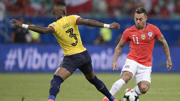 Ecuador, Chile, Japón, Uruguay, Copa América
