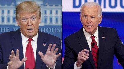 Donald Trump (republicano) y Joe Biden (demócrata) son los principales competidores en las elecciones presidenciales, pero no los únicos