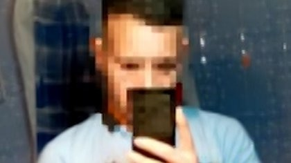 Imagen del personal trainer detenido la semana pasada por acosar a un niño de 11 años en internet