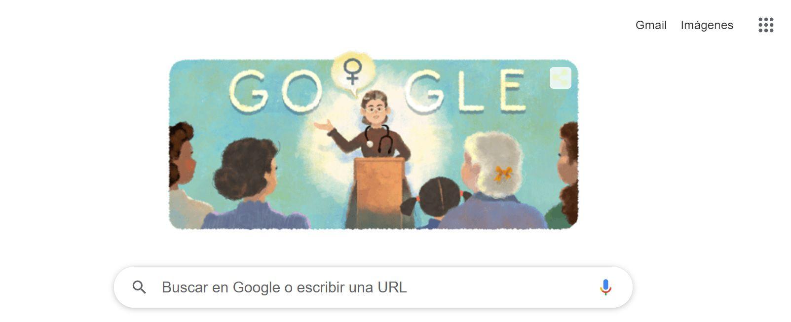 Google Doodle de Petrona Eyle