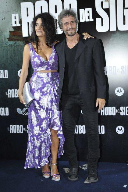 Diego Peretti y su pareja