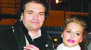 Brittany Murphy y su esposo Simon Monjack, quien murió cinco meses después que ella y por las mismas causas