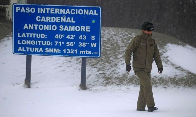 Paso internacional Cardenal Samoré