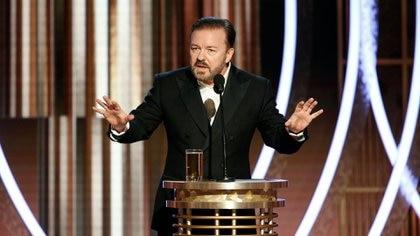 Ricky Gervais fue el último anfitrión de los Globos de Oro (Reuters)